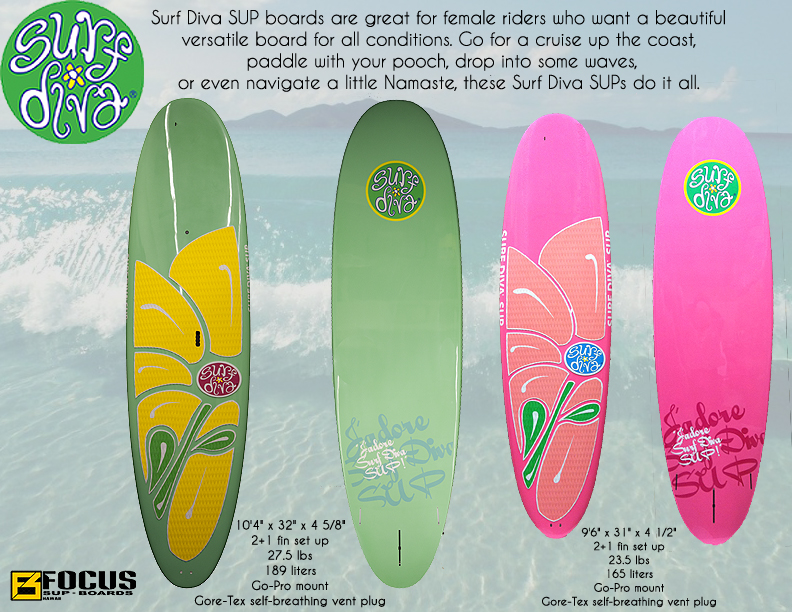 Surf Diva-focus catalogue SUP boards copy